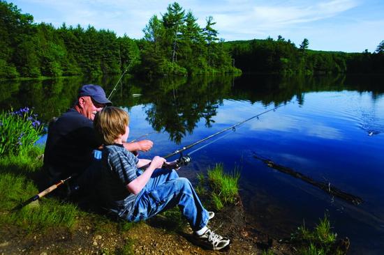 ленобласть-на рыбалку с ребенком